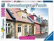Aarhus Denmark 1000 Piece Puzzle   Merchandise