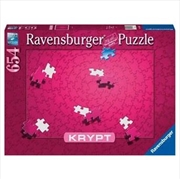 Krypt Pink Spiral 654 Piece Puzzle  | Merchandise