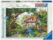 Flower Hill Lane 1000 Piece Puzzle | Merchandise