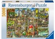 Bizarre Town 5000 Piece Puzzle   Merchandise