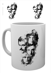 Queen Faces Mug Freddie Mercury | Merchandise