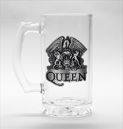 Queen Crest Stein Glass | Merchandise