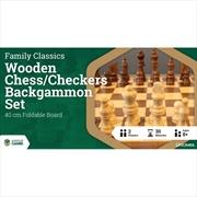 LPG Wooden Folding Set 40cm | Merchandise