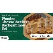 LPG Wooden Folding Set 35cm | Merchandise