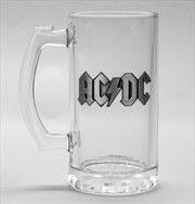 ACDC Logo Stein Glass | Merchandise