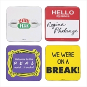 Friends - Quotes Coasters Set of 4 | Merchandise
