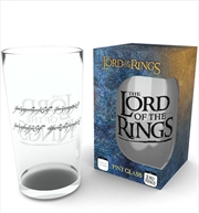 Lord of the Rings Ring Large Glass | Merchandise