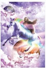 Random Galaxy - Sloth Riding Unicorn | Merchandise