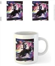 Random Galaxy - Cat On T.rex | Merchandise