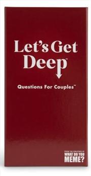 Let's Get Deep | Merchandise