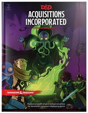 D&D Dungeons & Dragons Acquisitions Incorporated Hardcover | Games