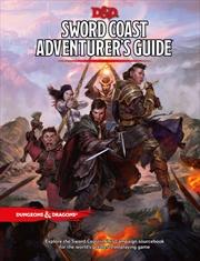 D&D Dungeons & Dragons Sword Coast Adventurers Guide Hardcover | Games