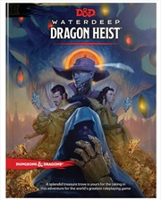 D&D Dungeons & Dragons Waterdeep Dragon Heist Hardcover | Games