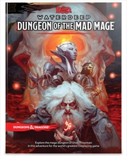 D&D Dungeons & Dragons Waterdeep Dungeon of the Mad Mage Hardcover | Games