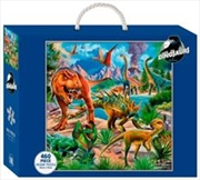 Dinosaurs In The Wild 460 Piece Puzzle | Merchandise