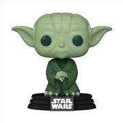 Star Wars - Yoda Green ECCC 2021 US Exclusive Pop! Vinyl | Pop Vinyl