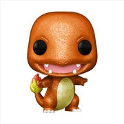 Pokemon - Charmander Diamond Glitter ECCC 2021 US Exclusive Pop! Vinyl | Pop Vinyl