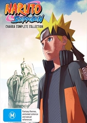 Naruto Shippuden Chakra | Complete Collection | DVD