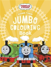 Thomas and Friends Jumbo Colouring Book | Paperback Book