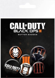 Call of Duty Black Ops III Badge 6 Pack | Merchandise