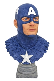 Captain America - Legends in 3D 1:2 Scale Bust | Merchandise