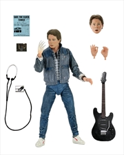 """Back to the Future - Marty McFly '85 Audition 7"""" Action Figure 