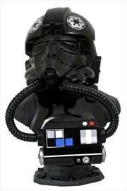 Star Wars - TIE Pilot Legends in 3D 1:2 Scale Bust | Merchandise