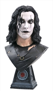 The Crow - Eric Draven Legends in 3D 1:2 Scale Bust | Merchandise