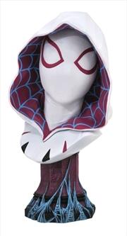 Spider-Man - Spider-Gwen Legends in 3D 1:2 Scale Bust | Merchandise