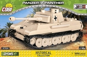 World War II - Panzer v Panther Tank 1:48 Scale 294 pieces | Miscellaneous