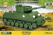 World War II - M4A3E8 Sherman Tank 1:48 Scale 316 pieces | Miscellaneous
