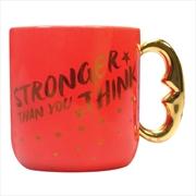 Wonder Woman - Stronger Than You Think Shaped Mug | Merchandise