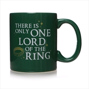 The Lord of the Rings - Only One Lord Mug   Merchandise
