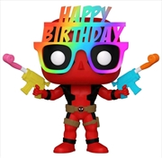 Deadpool - Birthday Hat 30th Anniversary US Exclusive Pop! Vinyl [RS] | Pop Vinyl