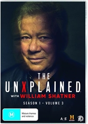 Unexplained With William Shatner - Season 1 - Vol 3, The | DVD