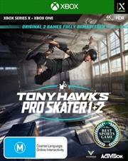 Tony Hawks Pro Skater 1 And 2 | XBOX Series X