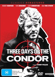 Three Days Of The Condor | Classics Remastered | DVD