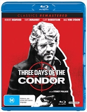 Three Days Of The Condor | Classics Remastered | Blu-ray