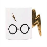 Harry Potter - Lightning Bolt Shaped Mug | Merchandise