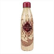 Harry Potter - Marauders Map Metal Water Bottle | Merchandise