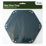 "LPG Hex Dice Tray 8"" Blue | Merchandise"