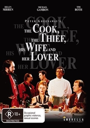 Cook, The Thief, His Wife and Her Lover, The | DVD