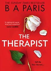 The Therapist | Hardback Book