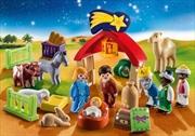 Playmobil - 1.2.3 Advent Calendar - Christmas Manger | Toy