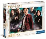 Clementoni Puzzle Harry Potter Characters Puzzle 1,000 pieces | Merchandise
