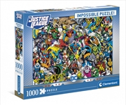 Clementoni Puzzle DC Comics Impossible Puzzle 1,000 pieces | Merchandise