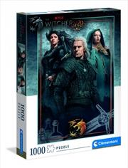 Clementoni Puzzle Netflix The Witcher Puzzle 1,000 pieces | Merchandise