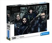 Clementoni Puzzle Game of Thrones Puzzle 500 pieces | Merchandise
