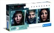 Clementoni Puzzle Netflix The Witcher Panorama Puzzle 1,000 pieces | Merchandise