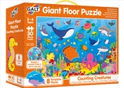 Counting Creatures Giant Floor Puzzle | Merchandise